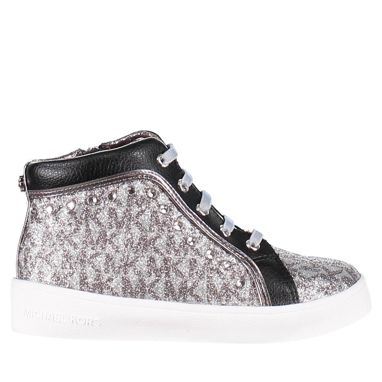 Afbeelding van Michael Kors ZIVYGIA kindersneakers zilver