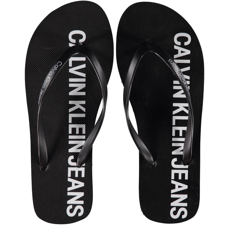 Picture of Calvin Klein DORI womens flipflops black