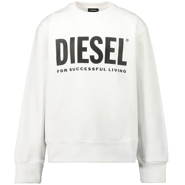 Afbeelding van Diesel 00J4PQ kindertrui wit