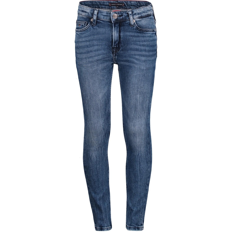 Afbeelding van Tommy Hilfiger KB0KB04557 kinderbroek jeans