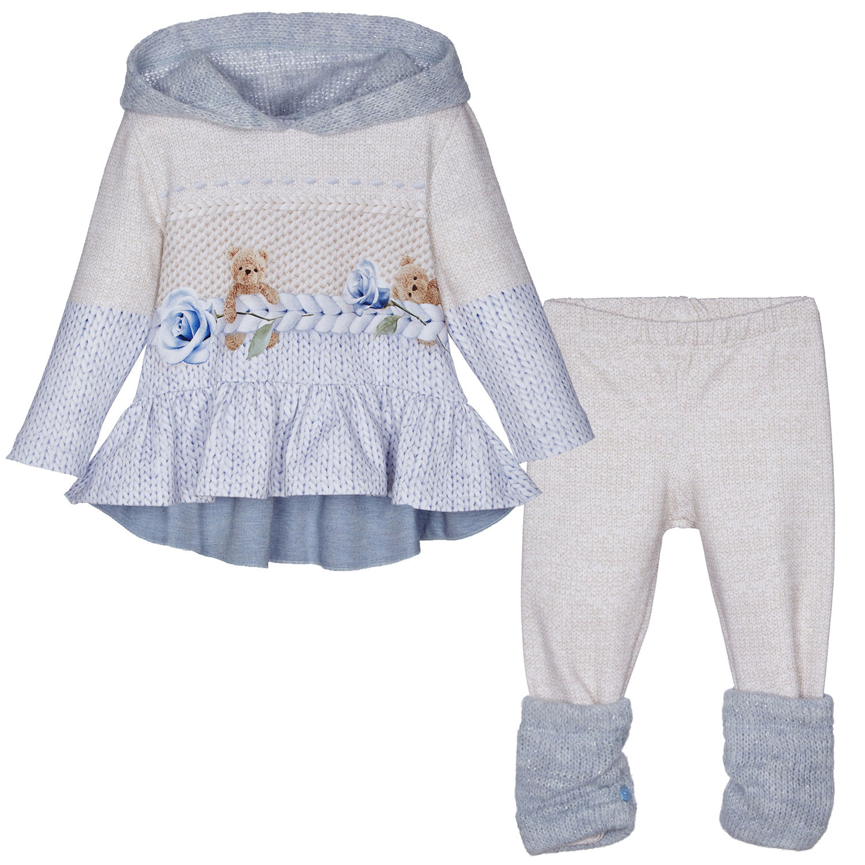 Afbeelding van Lapin 212E5405 babysetje licht blauw