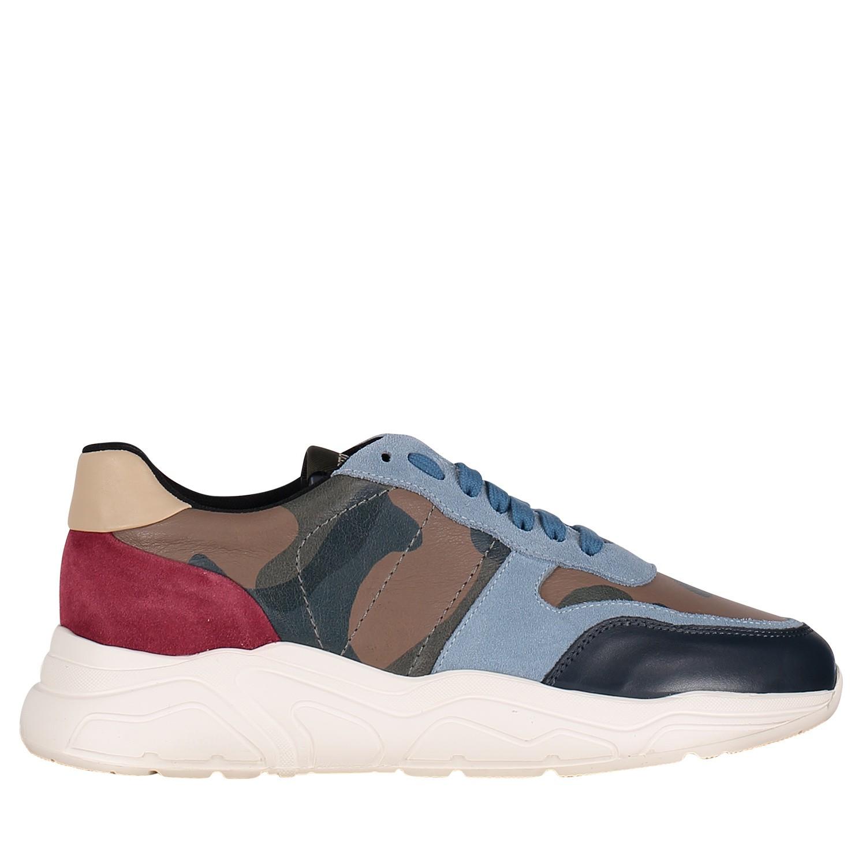 Afbeelding van Stokton 10U heren sneakers licht blauw