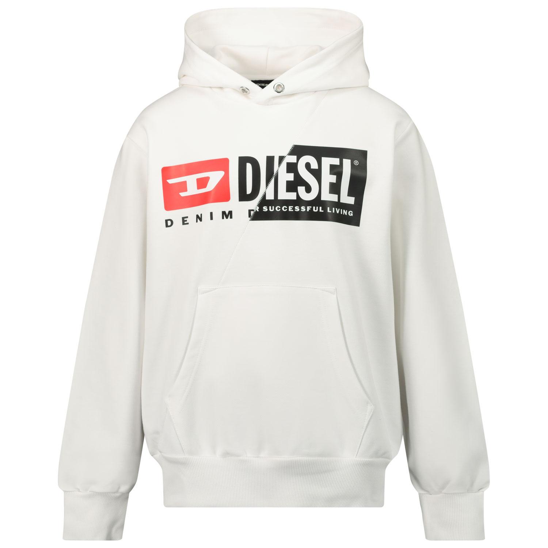 Afbeelding van Diesel J00095 kindertrui wit