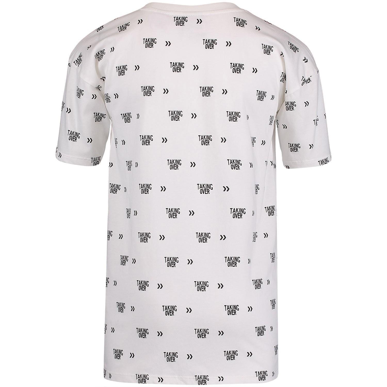 nik nik b8531 jongens kinder t shirt off white bij coccinelle. Black Bedroom Furniture Sets. Home Design Ideas