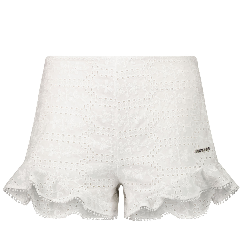 Afbeelding van Pinko 027585 kinder shorts wit