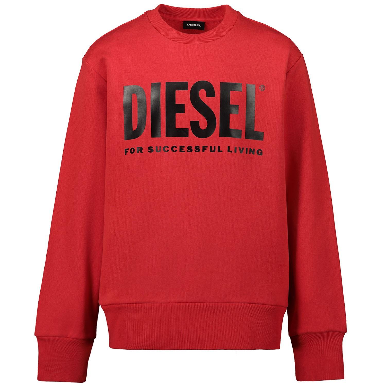 Afbeelding van Diesel 00J4PQ kindertrui rood