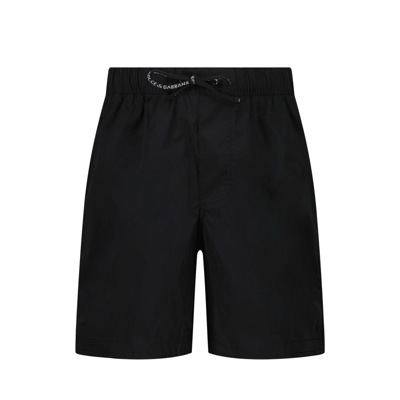 Afbeelding van Dolce & Gabbana L1J818 G7YHP baby badkleding zwart