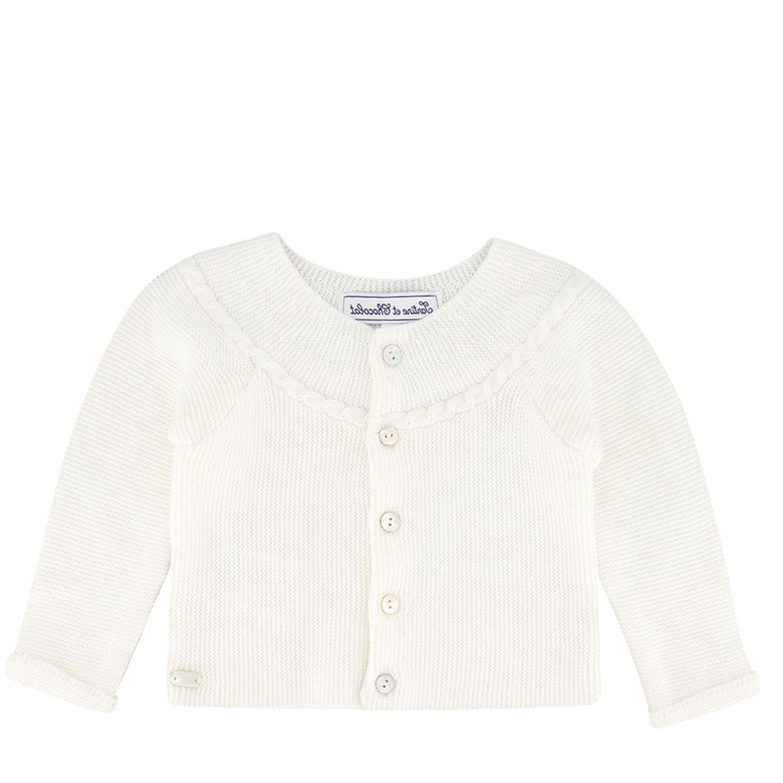 Afbeelding van Tartine et Chocolat TS18191 baby vest wit