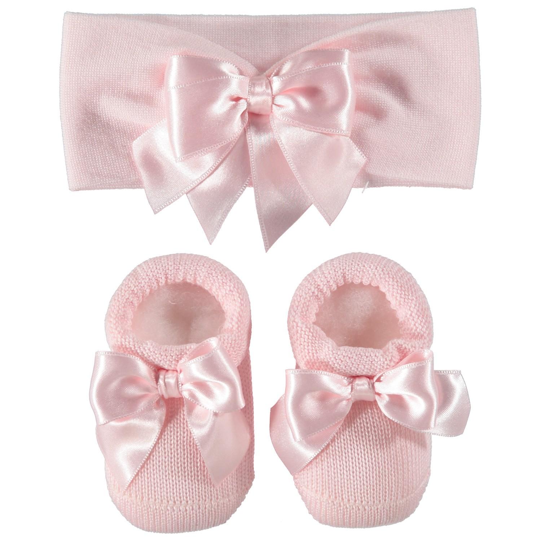 Picture of La Perla 43994 baby set light pink