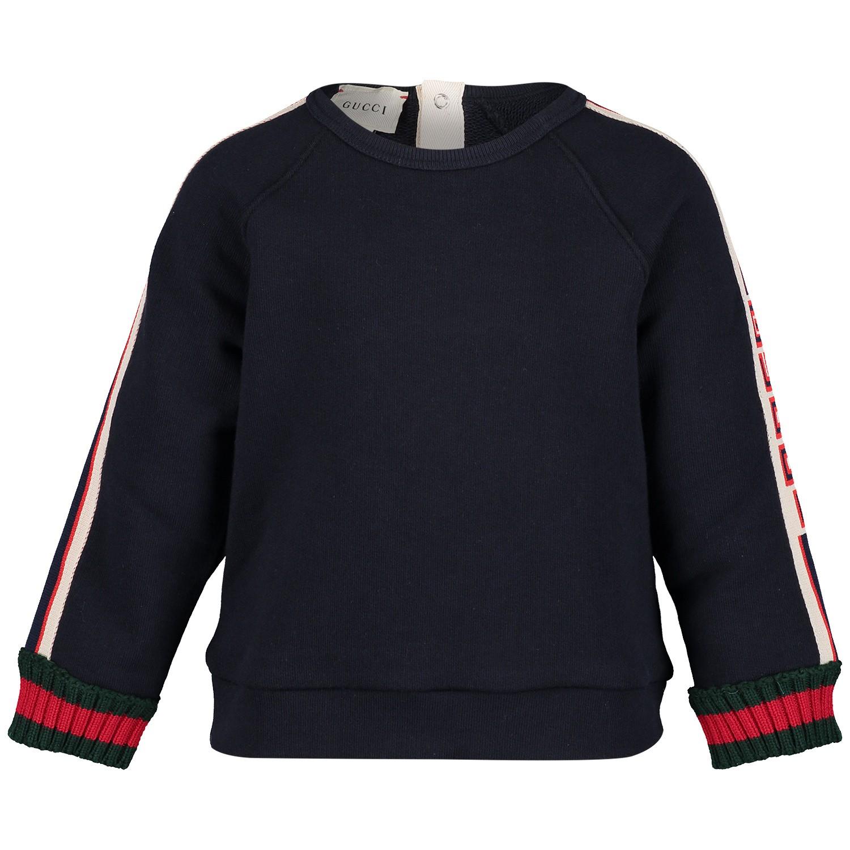 Afbeelding van Gucci 548508 baby trui navy