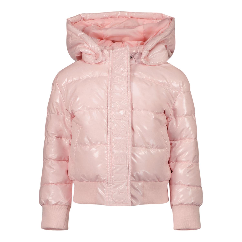 Afbeelding van Guess K1BL00 B babyjas licht roze