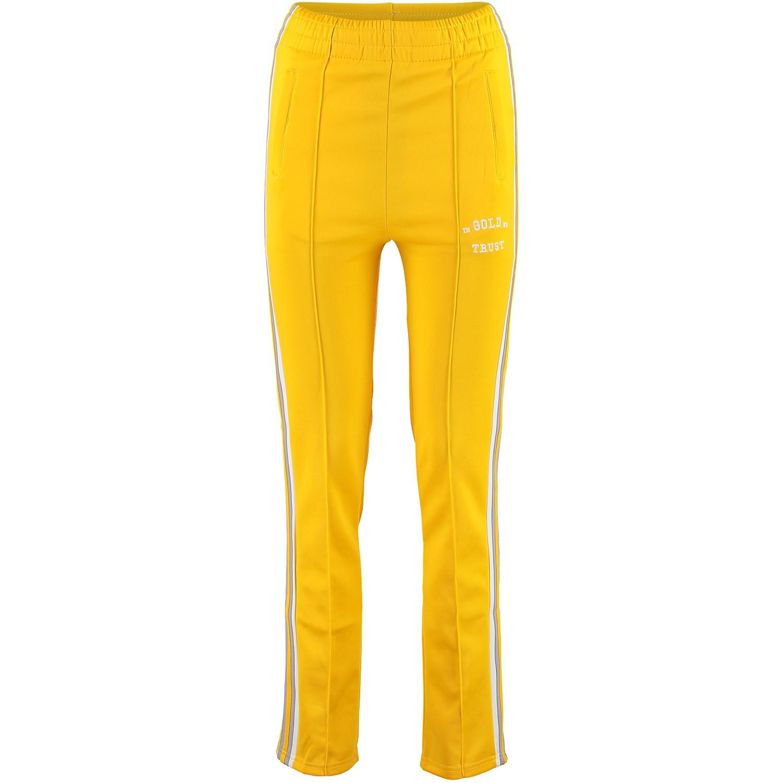 Afbeelding van in Gold We Trust FAPW001 dames trainingsbroek geel