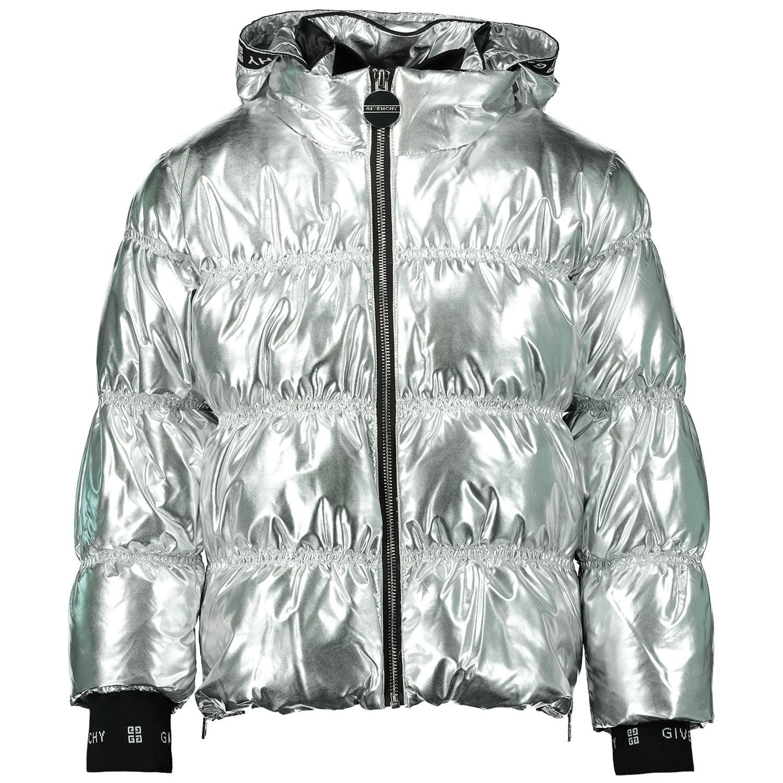 Afbeelding van Givenchy H16048 kinderjas zilver
