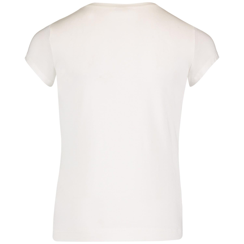 monnalisa 713600s8 meisjes kinder t shirt off white bij. Black Bedroom Furniture Sets. Home Design Ideas