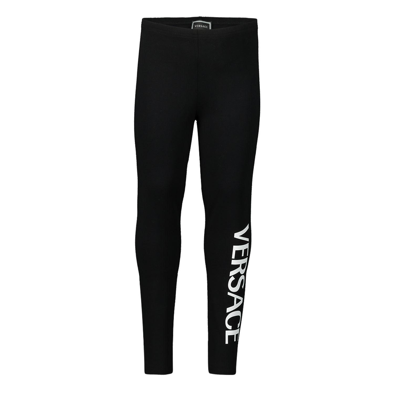 Afbeelding van Versace YA000048 baby legging zwart