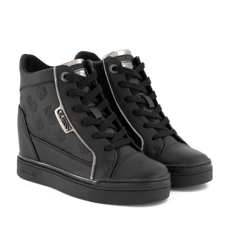 Zwart Fl7fabele12 Sneakers Fl7fabele12 Guess Fl7fabele12