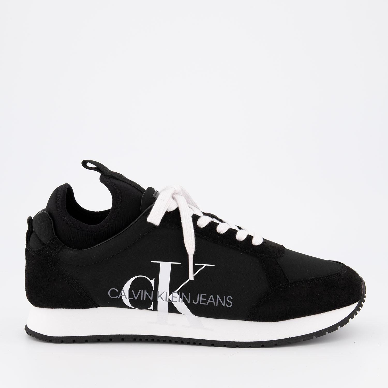Afbeelding van Calvin Klein JEMMY heren sneakers zwart