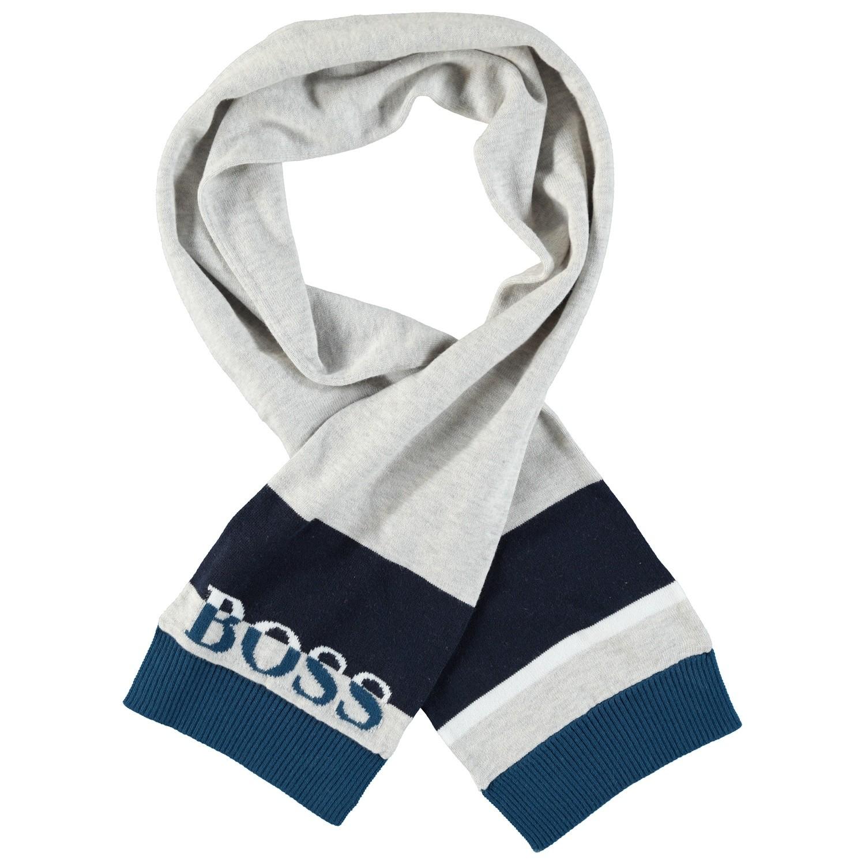 Afbeelding van Boss J01094 baby sjaal grijs
