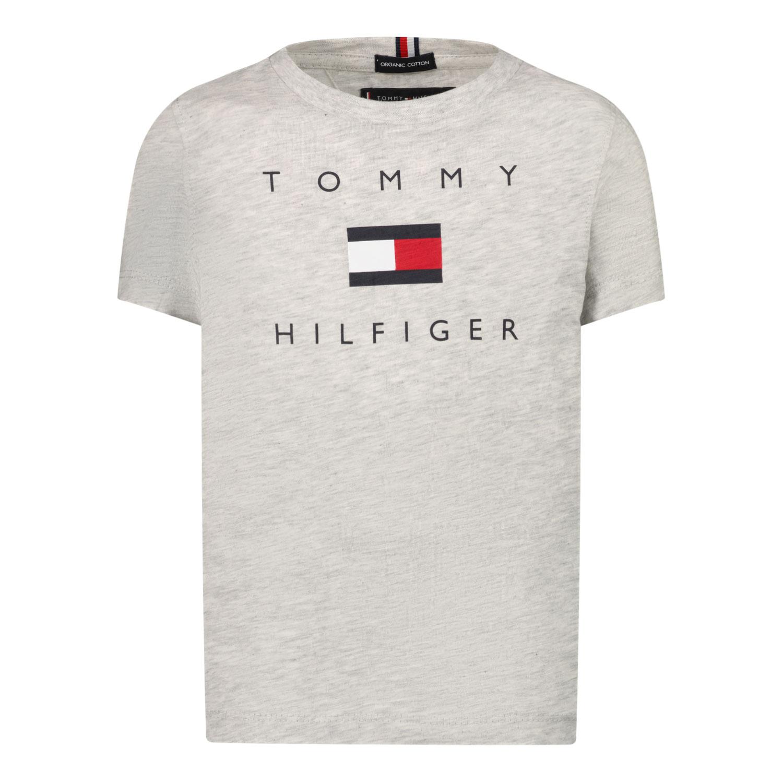 Afbeelding van Tommy Hilfiger KB0KB06523 B baby t-shirt grijs