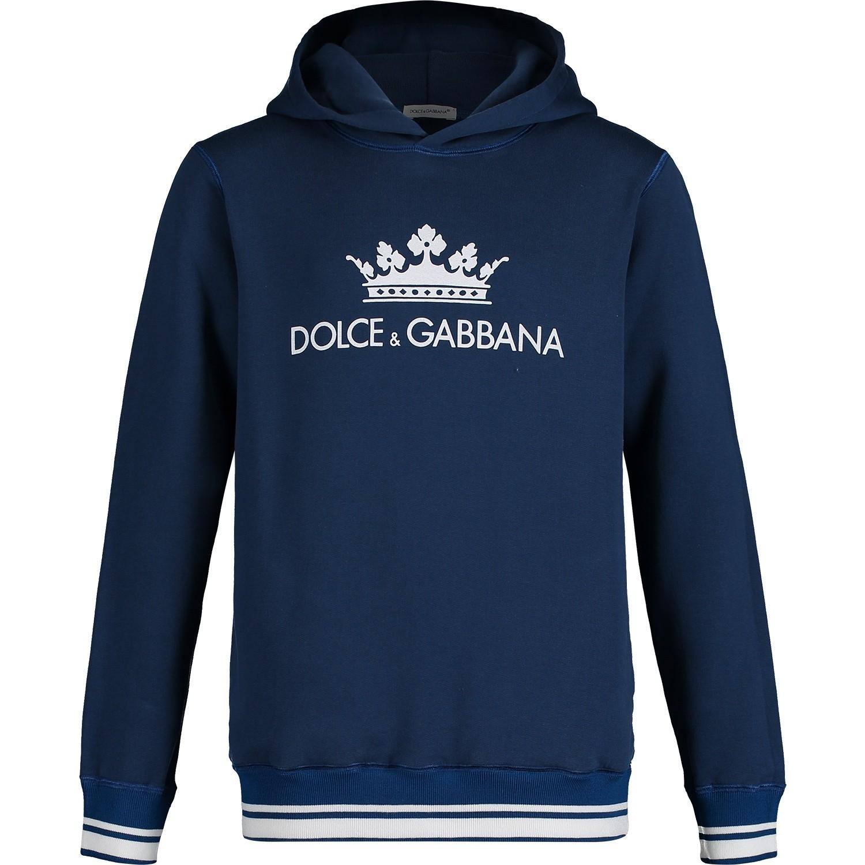 Afbeelding van Dolce & Gabbana L4JW2U kindertrui petrol