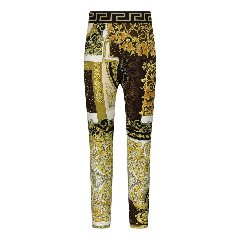 Afbeelding van Versace 1000361 1A00270 baby legging goud/zwart