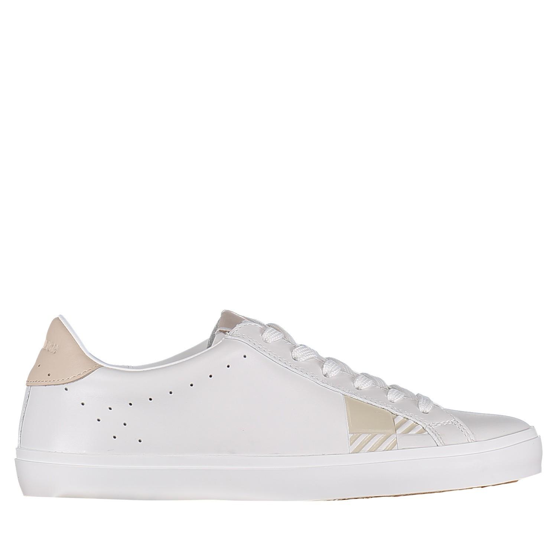Afbeelding van Woolrich WF4111 dames sneakers wit