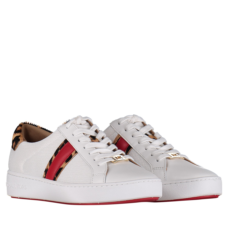 91c945386071df Michael Kors 43S9Irfs6D dames dames sneakers wit bij Coccinelle