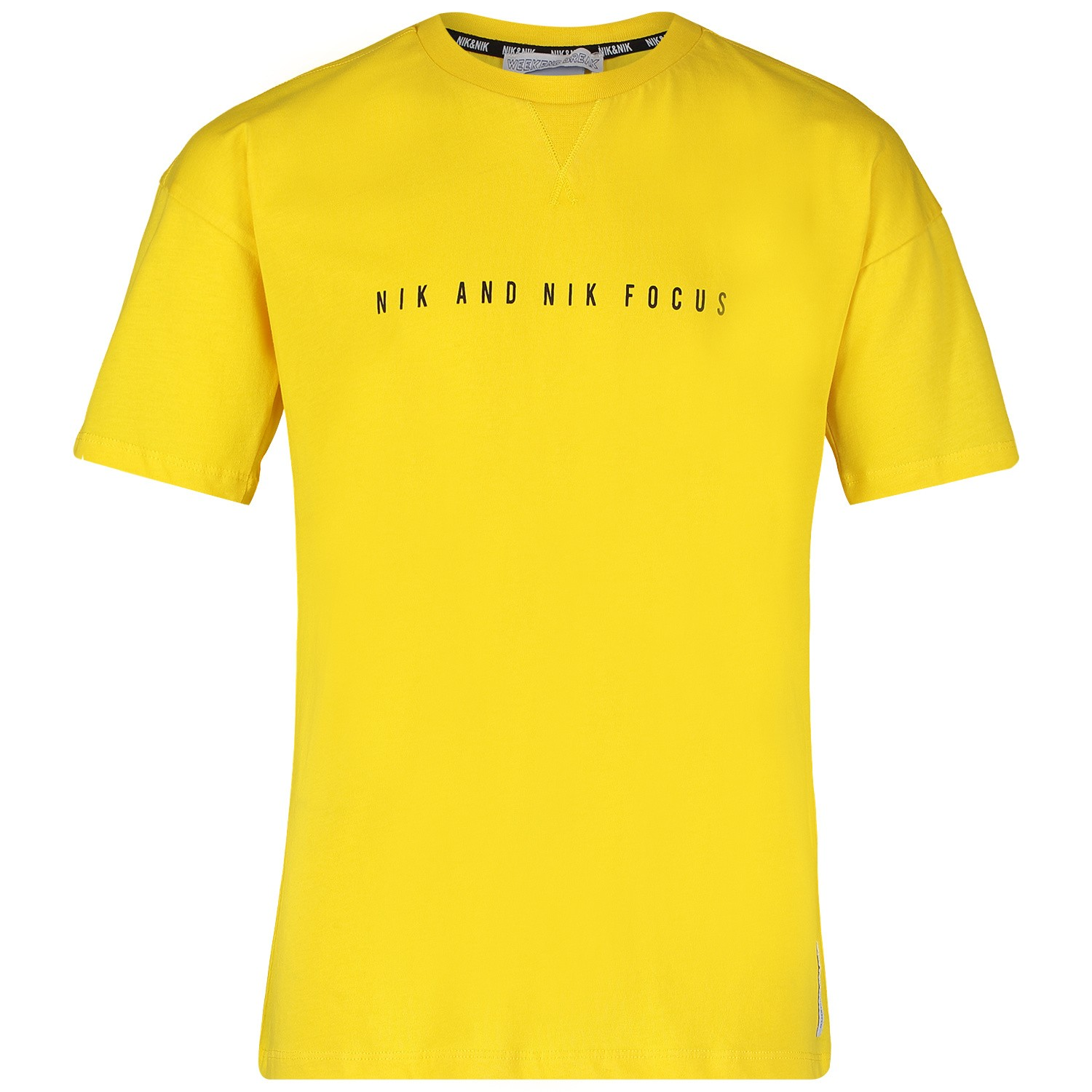 Picture of NIK&NIK B8813 kids t-shirt yellow
