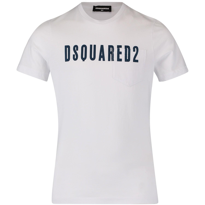 Picture of Dsquared2 DQ02V3 kids t-shirt white