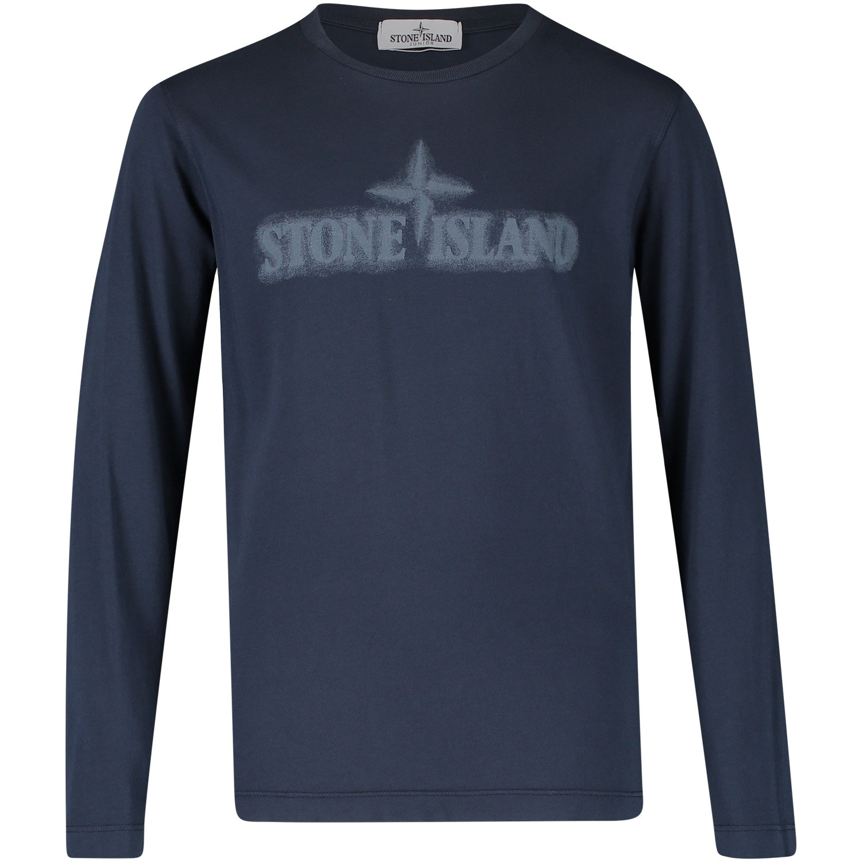 Afbeelding van Stone Island 691621155 kinder t-shirt navy