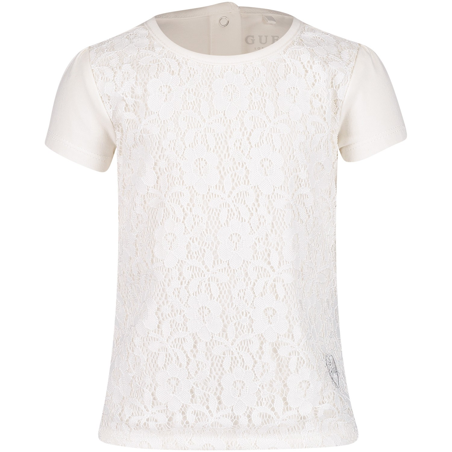 Afbeelding van Guess A91I14 baby t-shirt off white