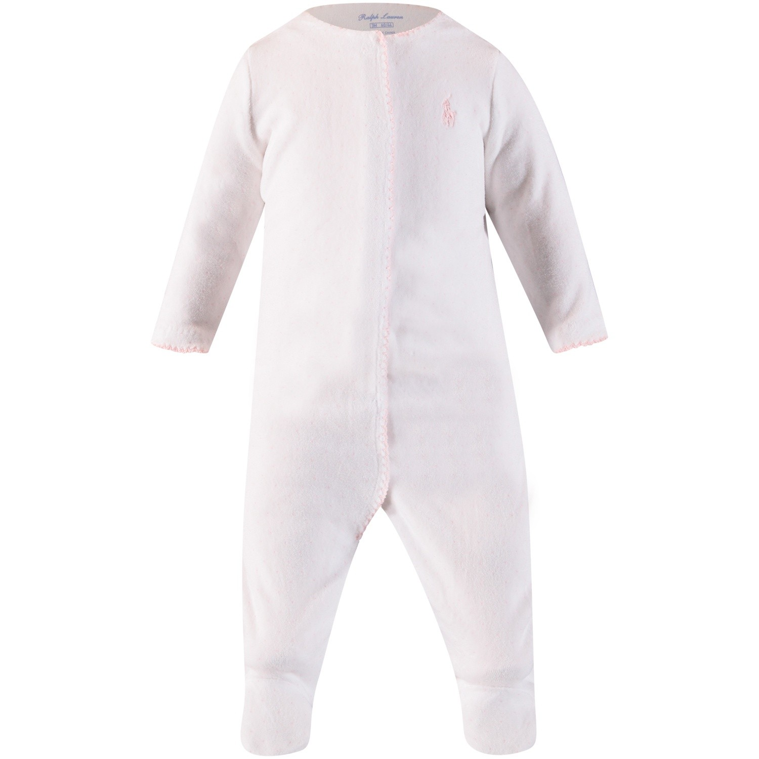 fec5c8e0aa Picture of Ralph Lauren 310701313 baby playsuit white