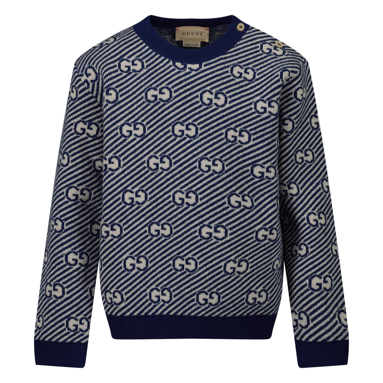 Afbeelding van Gucci 638308 baby trui blauw