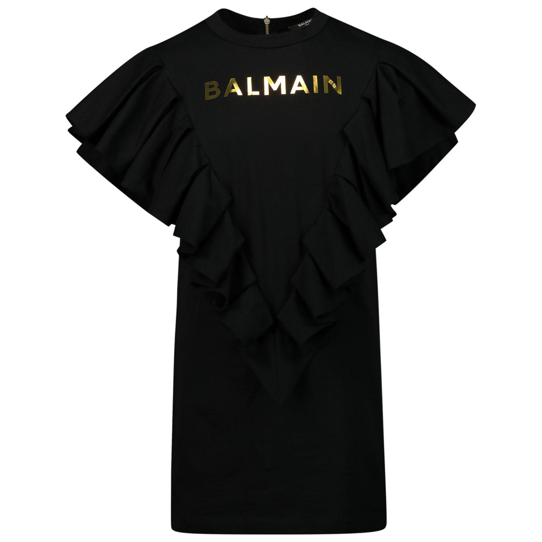 Afbeelding van Balmain 6O1211 kinderjurk zwart