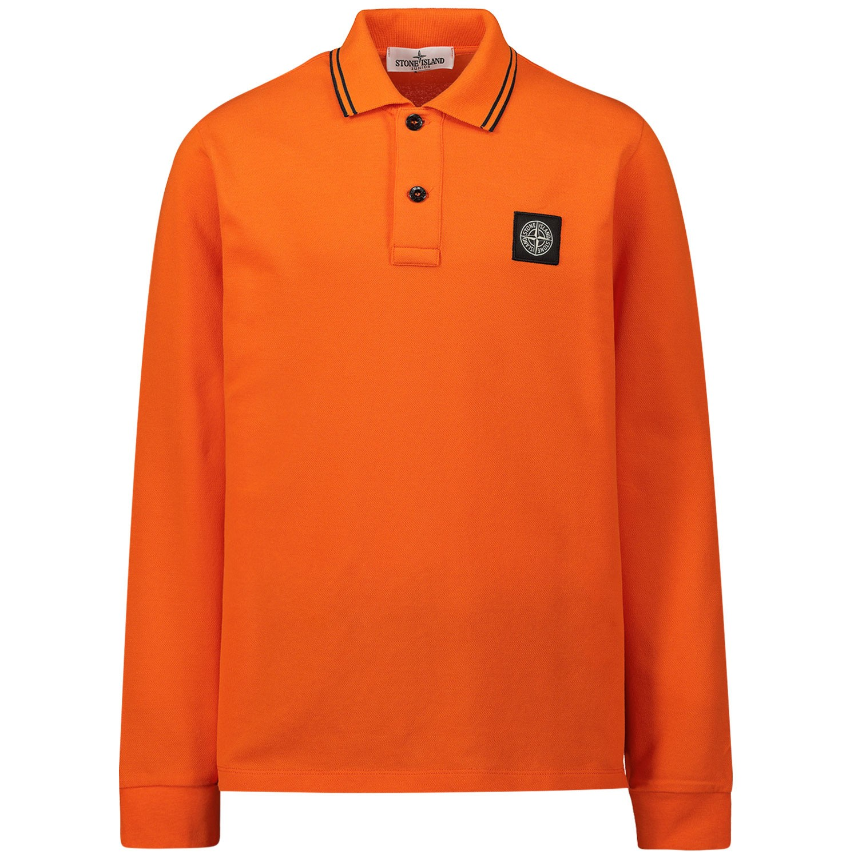 Afbeelding van Stone Island 711620748 kinder polo oranje