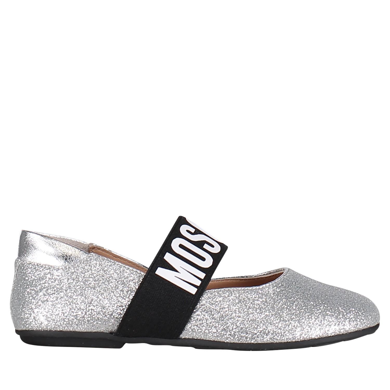 Kinderschoenen Voor Meisjes.Moschino 12013629 Meisjes Kinderschoenen Zilver Bij Coccinelle