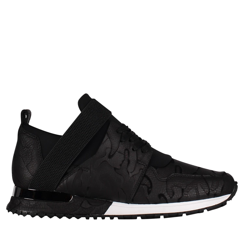 Afbeelding van Mallet TE1016 CAMO heren sneakers zwart