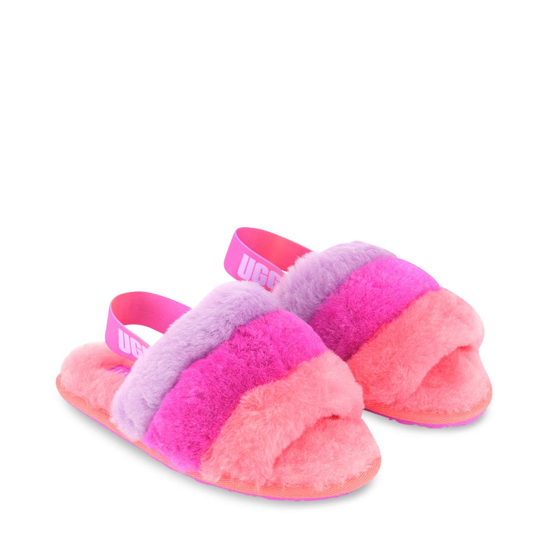 Afbeelding van Ugg 1120073 kindersloffen roze