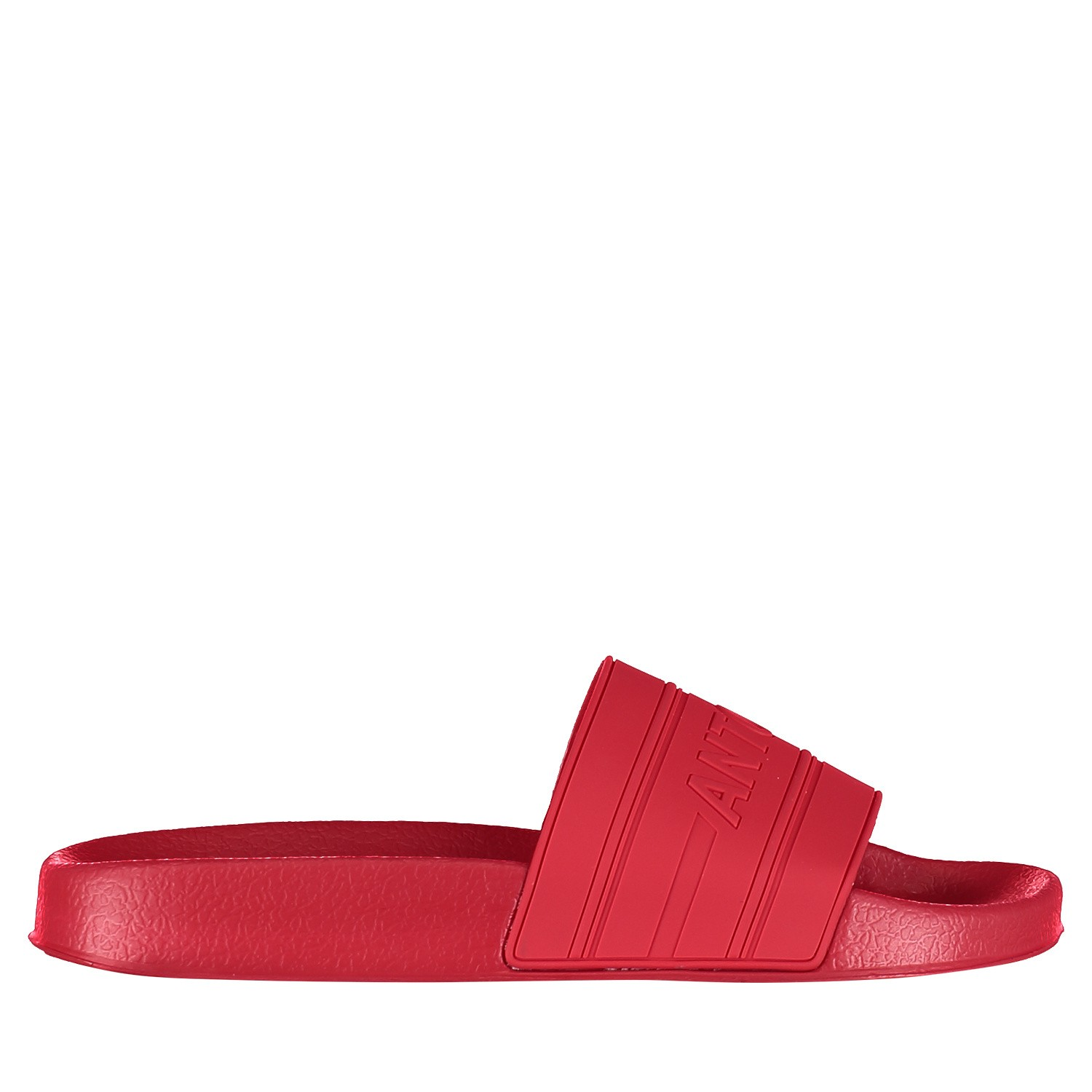 Picture of Antony Morato MMFW01098 mens flipflops red