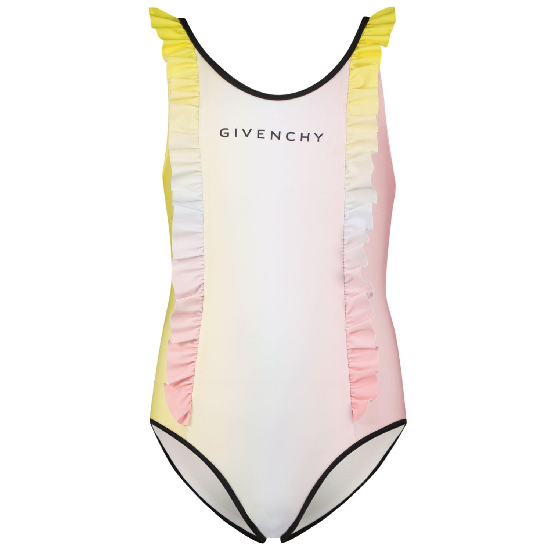 Afbeelding van Givenchy H10037 kinder zwemkleding licht roze