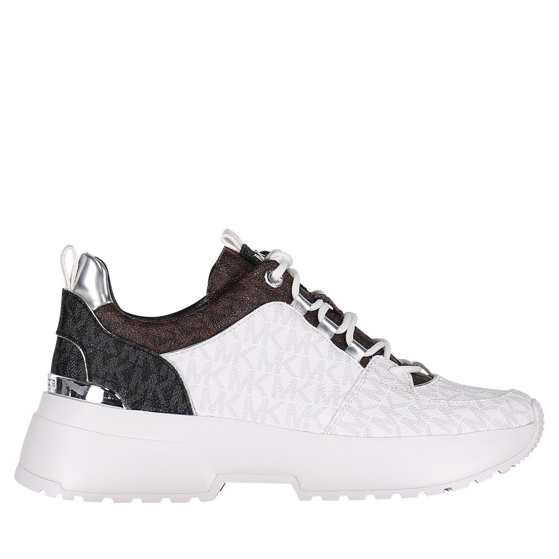7cb43073bda Michael Kors 43R9Csfs1Vpb dames dames sneakers wit bij Coccinelle