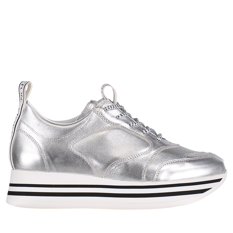 Dames Sneakers Bij 33d Coccinelle Stokton Zilver 5wqF7PxSz