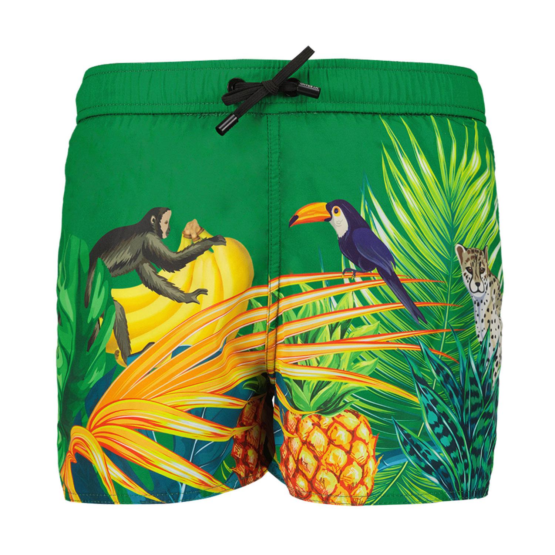 Afbeelding van My Brand 3X21009C0002 kinder zwemkleding groen