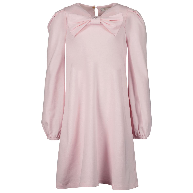 Afbeelding van MonnaLisa 178902A4 kinderjurk licht roze