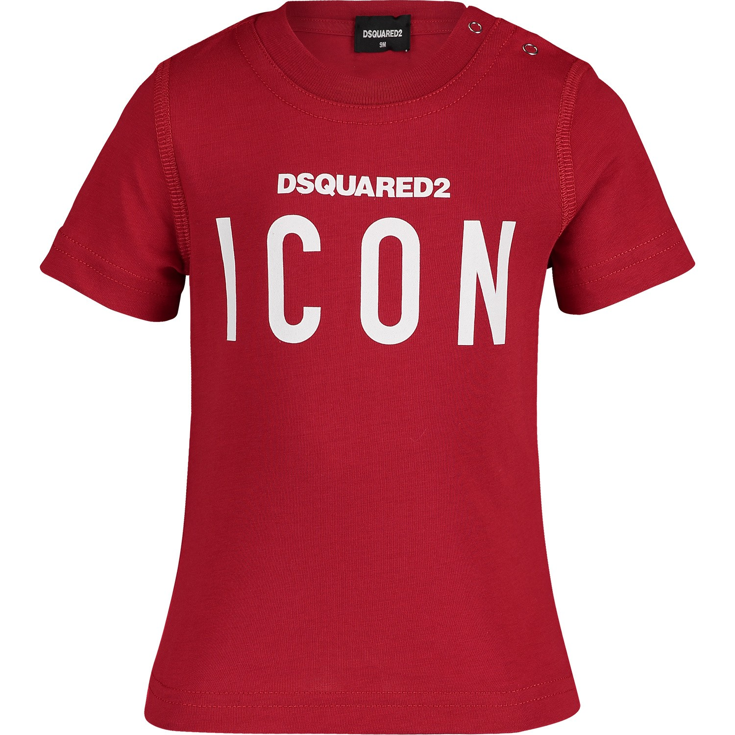 Picture of Dsquared2 DQ03G1 baby shirt red