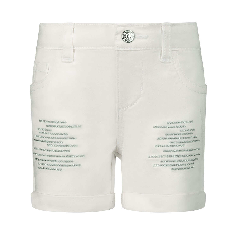 Afbeelding van Guess K02D00 baby shorts wit