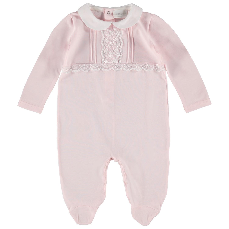 Picture of La Perla 50893 baby playsuit light pink