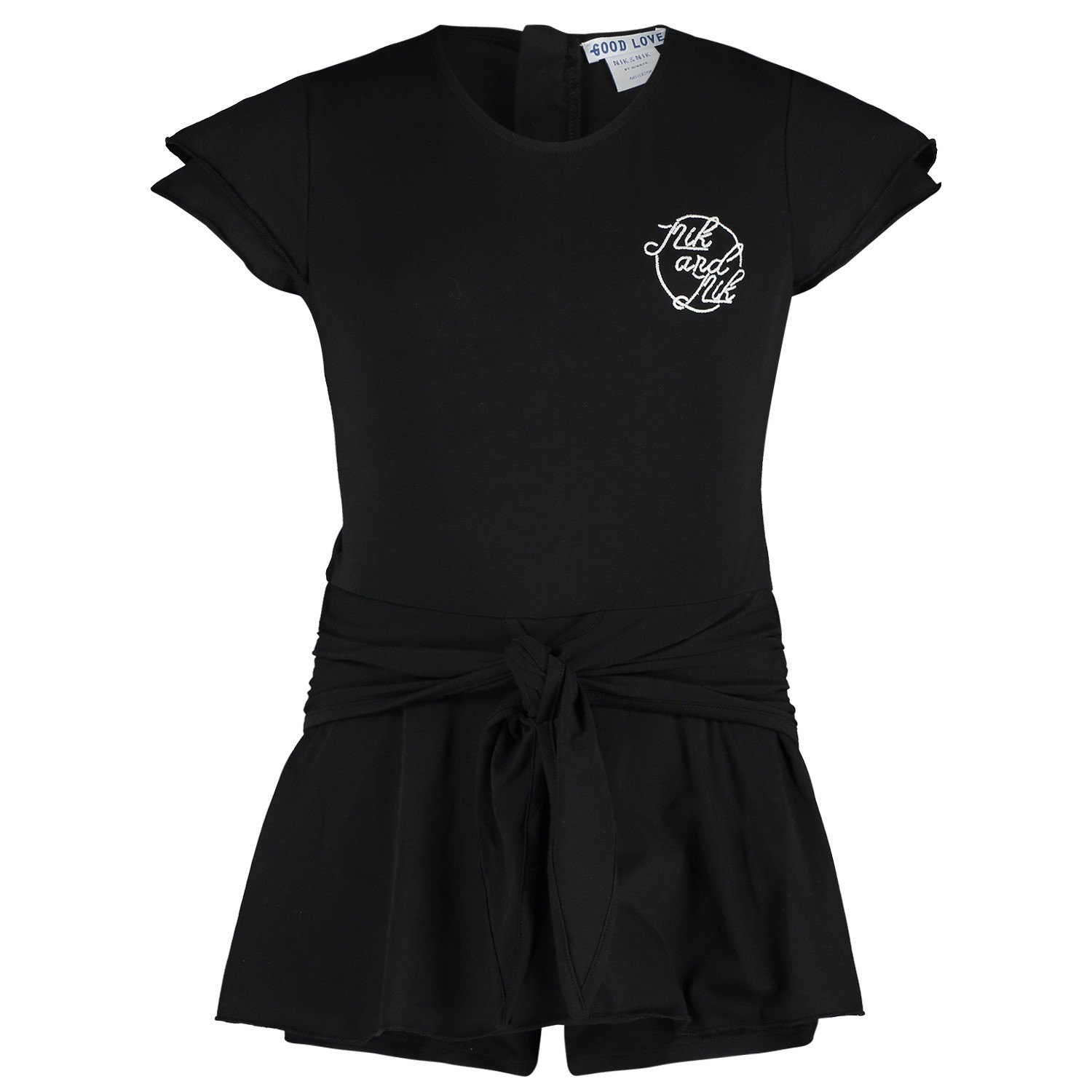 Picture of NIK&NIK G2681 kids jumpsuit black