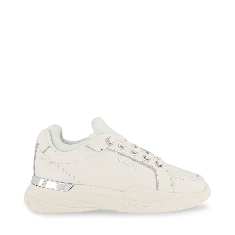 Afbeelding van Mallet MK3051WHT kindersneakers wit