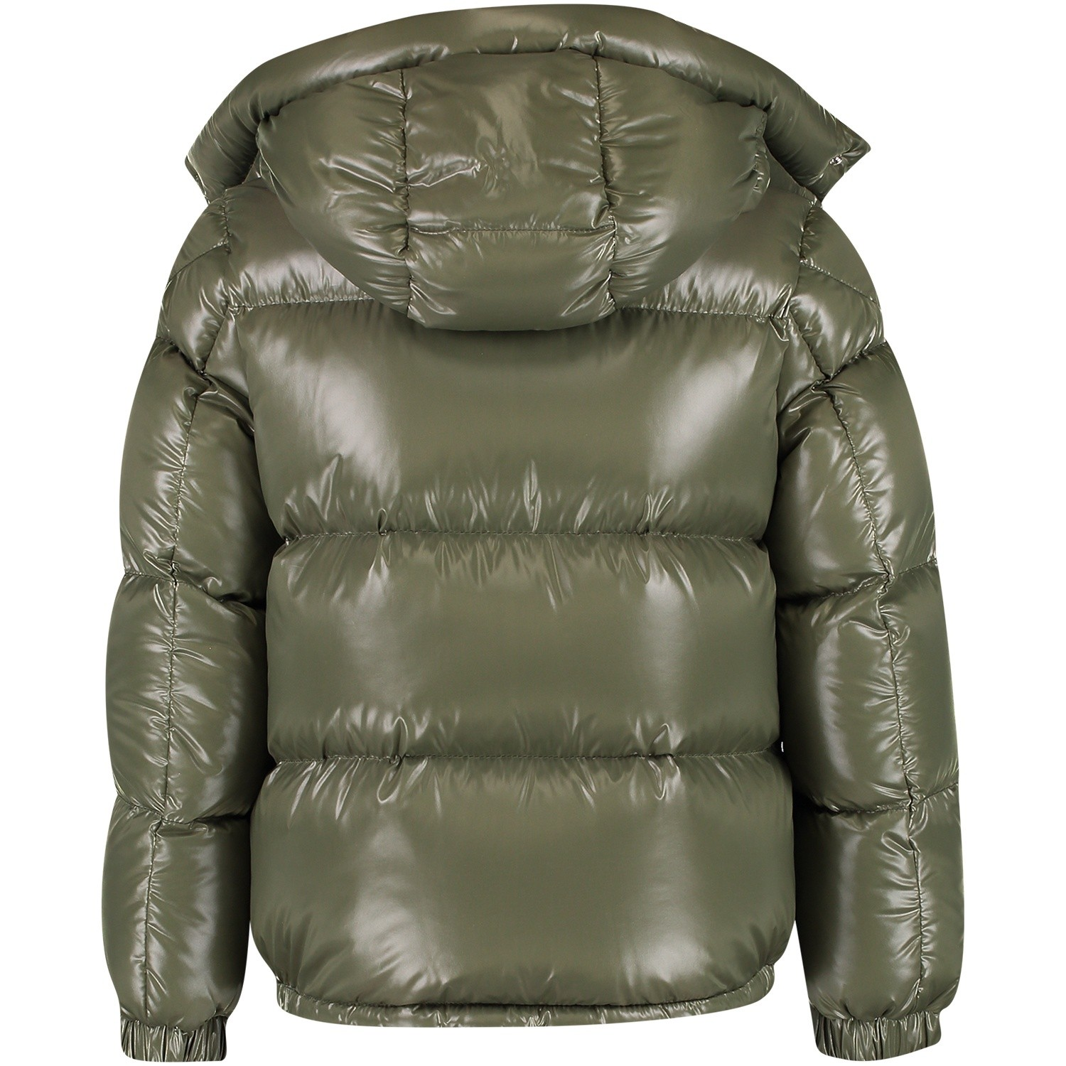 Picture of Moncler 4187405 kids jacket army